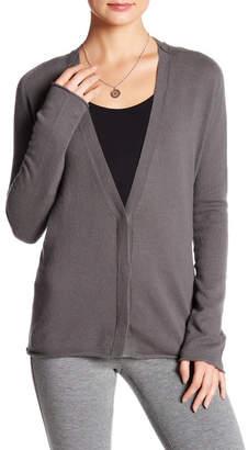 Inhabit V-Neck Long Sleeve Cashmere Cardigan $363 thestylecure.com