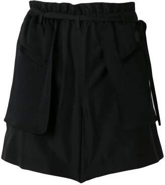 Valentino flap pocket shorts