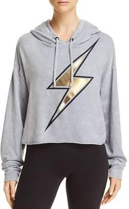 Vintage Havana Lightning Bolt Hooded Sweatshirt