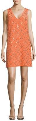 Trina Turk Women's Sally Embellished Silk Dress