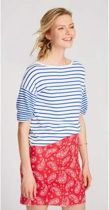 J.Mclaughlin Cece Short Sleeve Sweater in Stripe