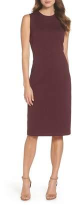 FOREST LILY Jacquard Sheath Dress