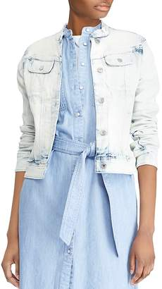 Lauren Ralph Lauren Faded Denim Jacket
