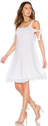 LA Made Lottie Dress in White $101 thestylecure.com
