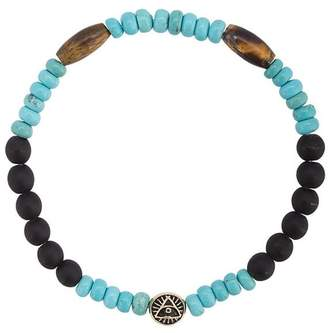 Luis Morais large round All Seeing Eye bracelet