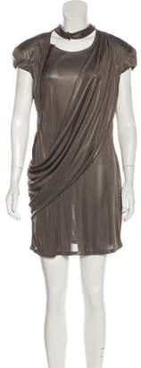 A.F.Vandevorst A.F. Vandevorst Draped Mini Dress