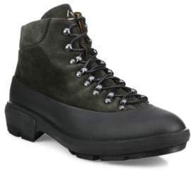 Aquatalia Murphy Lace-Up Suede Boots