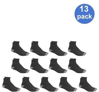 Athletic Works Men's Ankle Socks 13-Pack
