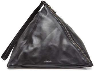 Jil Sander 3 Angle Leather Shoulder Bag