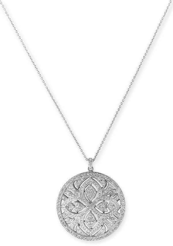 Nadri 'Etoile' Pendant Necklace