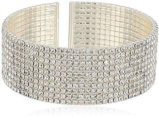 Anne Klein Classics Ton Crystal Cuff Bracelet