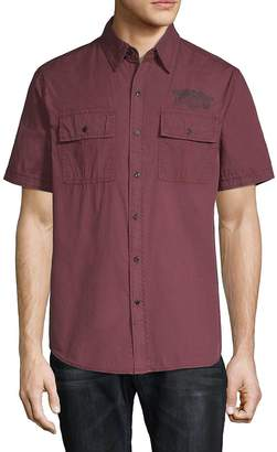 Affliction Men's Territorial Cotton Button-Down Shirt