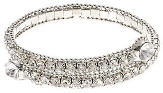 ABS by Allen Schwartz Crystal Coil Bracelet