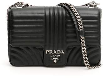 Prada Leather Diagramme Bag