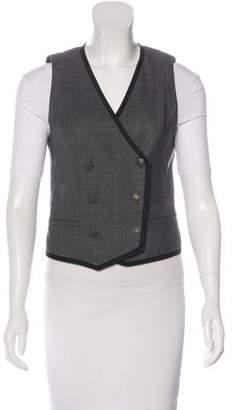 Rag & Bone Wool Double-Breasted Vest