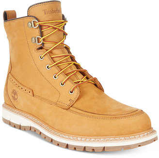 Timberland Men's Britton Hill Waterproof Nubuck Boots $200 thestylecure.com