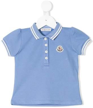 Moncler puff sleeve polo shirt