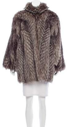 Fendi Fox Fur Short Coat