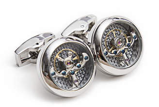 J.Ciro Watches Tourbillon Cuff Links