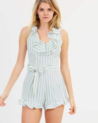 Atmos & Here ICONIC EXCLUSIVE - Kiara Frill Playsuit
