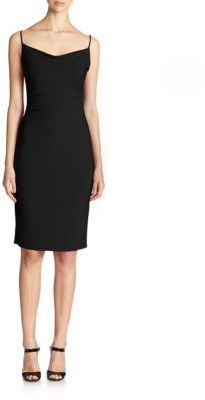 Laundry by Shelli Segal Shirred Tank Dress $168 thestylecure.com