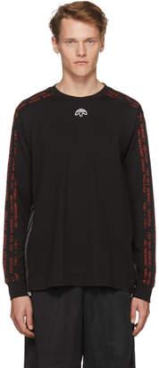 adidas by Alexander Wang Black Long Sleeve AW T-Shirt