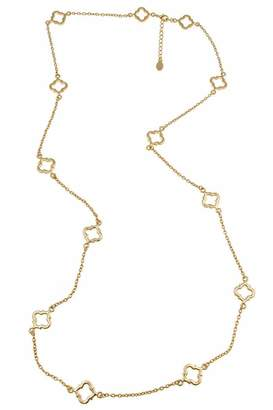 Fornash Cut-Out Spade Necklace