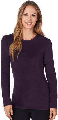Cuddl Duds Plus Size Fleecewear Crewneck Top
