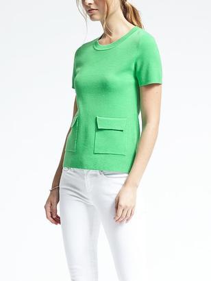 Milano Stitch Pocket Pullover $78 thestylecure.com