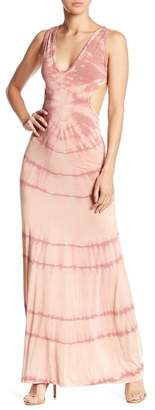 Couture Go Sleeveless Crossed Back Washed Maxi Dress