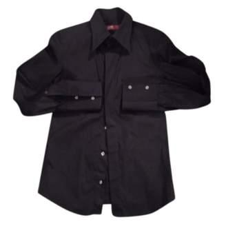 Notify Jeans Black Cotton Top for Women