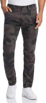G Star 5620 3D Slim Fit Jeans in Asfalt Camo