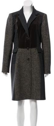 Etro Patterned Knee-Length Coat