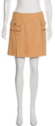 Dolce & Gabbana Chain-Trimmed Mini Skirt w/ Tags