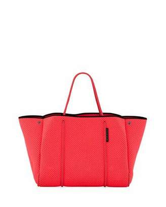 State of Escape Escape Perforated Neoprene Tote Bag, Bright Pink