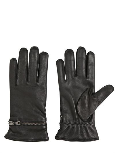 John Varvatos Nappa Leather Gloves