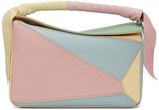 Loewe Multicolor Puzzle Wrap Bag