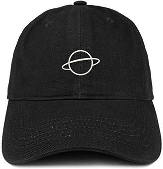 at Amazon Canada · Trendy Apparel Shop Planet Embroidered Soft Cotton  Adjustable Cap Dad Hat c66bcc182024