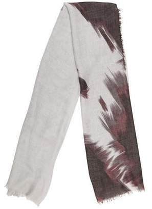 Gucci Printed Wool-Blend Scarf