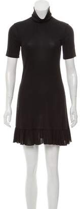 RED Valentino Short Sleeve Mini Dress
