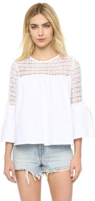 endless rose Boho Blouse $51 thestylecure.com