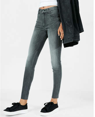 Express high waisted stretch+ performance ankle jean leggings