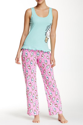 Hello Kitty Candy Coated Pant Set $27 thestylecure.com