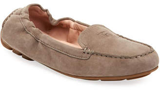 Taryn Rose Kristine Suede Stretch Loafers