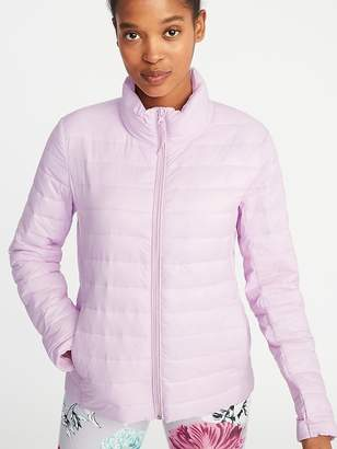 Old Navy Packable Quilted Nylon Jacket for Women