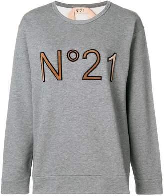 No.21 logo sweatshirt