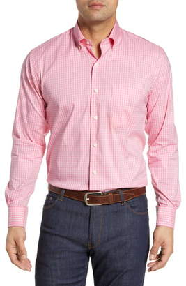 Peter Millar Collins Gingham Performance Shirt