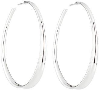 Ippolita Sterling Silver Fettuccine Hoop Earrings