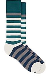 Paul Smith Men's Hawk Cotton-Blend Mid-Calf Socks - Gray