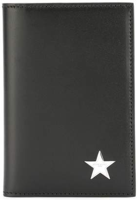 Givenchy star logo plaque billfold wallet